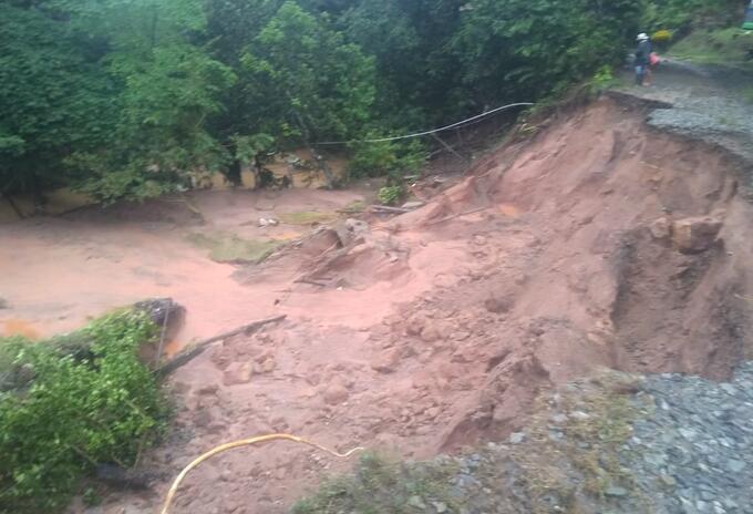 Lluvias en Antioquia