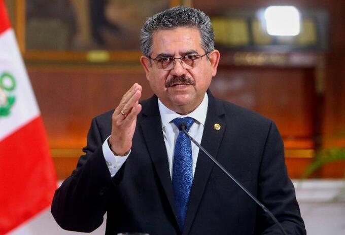 Manuel Merino, expresidente del Perú