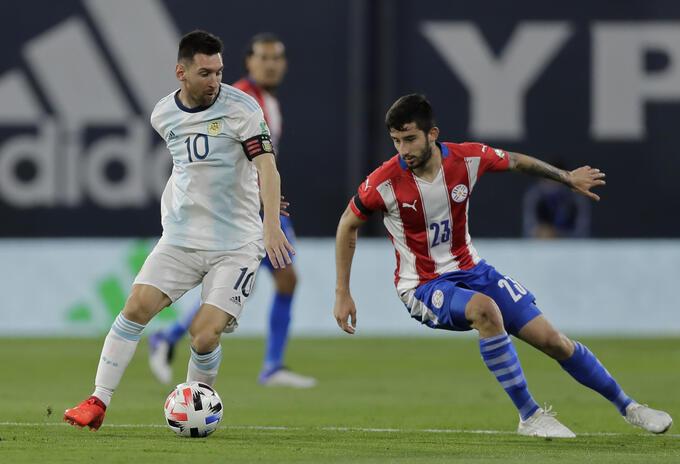 ARGENTINA-PARAGUAY