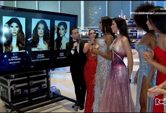 Miss Universe tres finalistas