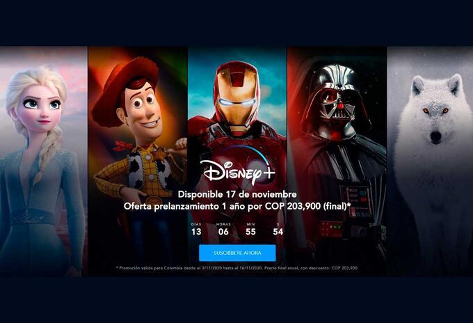 Oferta Disney+