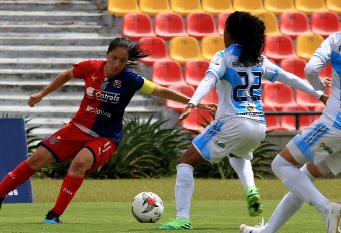 Real San Andres vs Medellín femenino