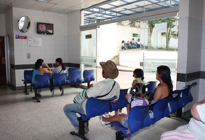 SOS de red pública hospitalaria Santander