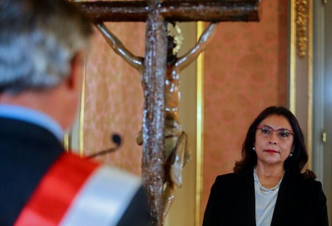 Violeta Bermúdez, primera ministra del Perú