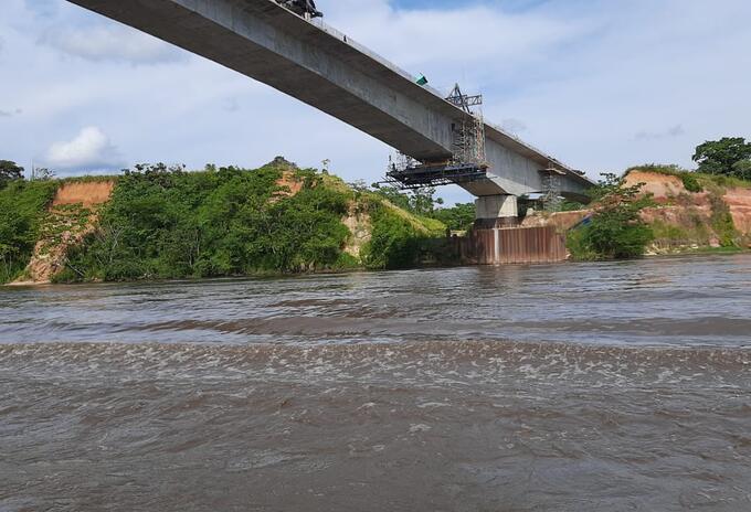 Río Magdalena, recorrido desde La Dorada (Caldas), hasta Barrancabermeja (Santander)