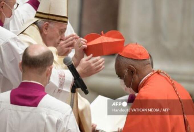 Arzobispo de Washington Wilton Gregory, investido como cardenal