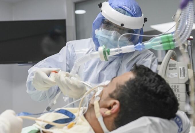 Los pacientes hospitalizados con coronavirus están en un condición grave en Antioquia.
