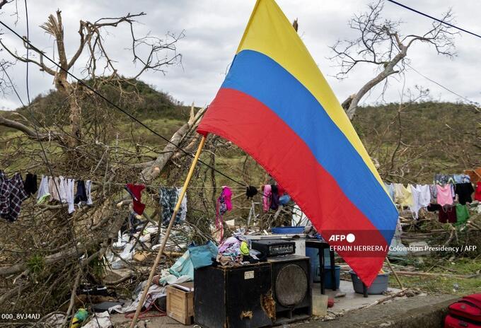 El paso del huracán Iota causó gran devastación en Providencia