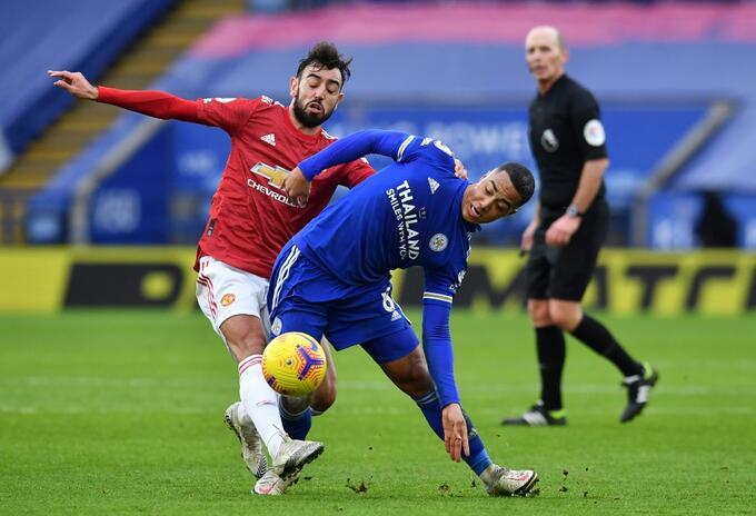 Leicester vs Manchester United, Premier League