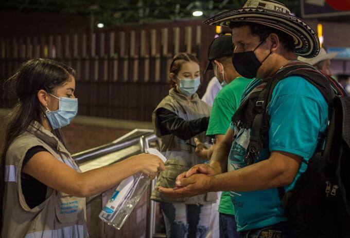 Cerca de 937.507 personas se han movilizado por las Terminales de Medellín, entre el 1 de enero y el 25 de diciembre de 2020.