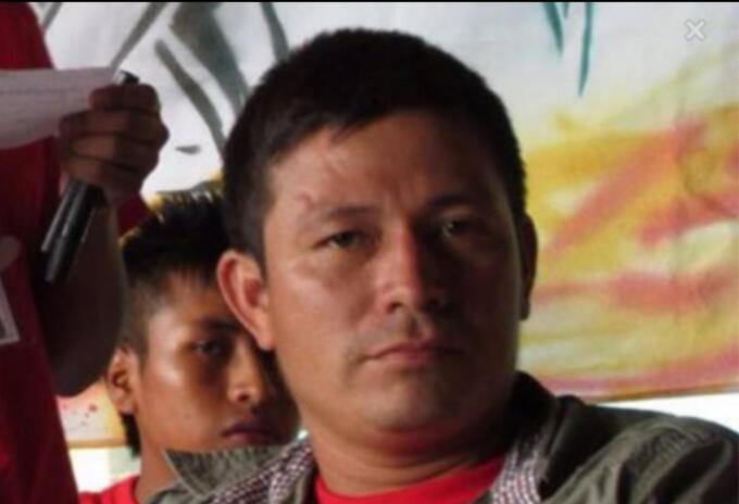 Norbey Antonio Rivera, víctima.