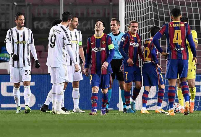 Juventus vs Barcelona 2020
