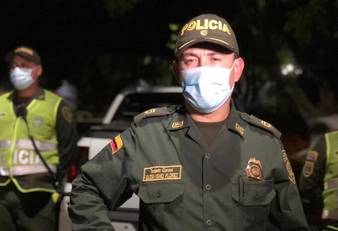 Subcomandante Policía Metropolitana de Barranquilla