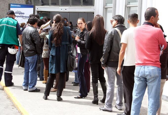 Desempleo en Bogotá y Cundinamarca