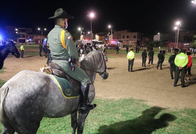 Autoridades realizaron 20 allanamientos en el oriente de Cali.