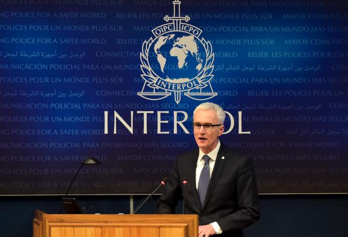 Secretario general de Interpol, Jürgen Stock