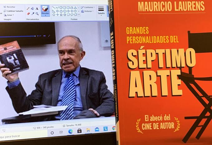 Mauricio Laurens lanza un nuevo libro