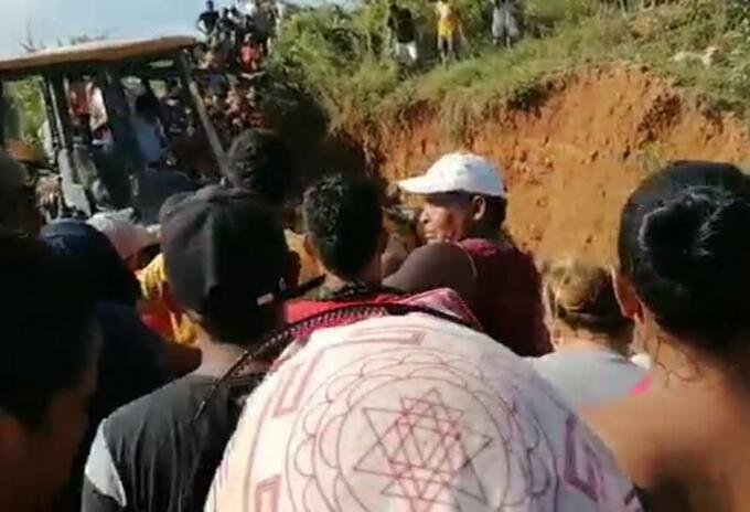 Muerte de dos mineros en el municipio de Barranco de Loba