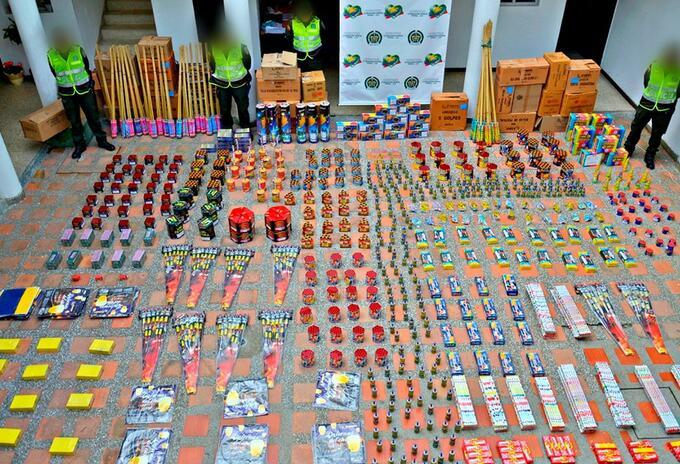 Quedó prohibida la venta de pólvora en Neiva