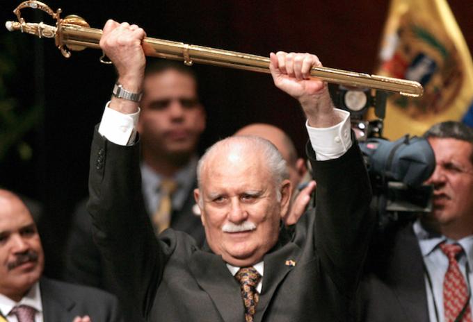 José Vicente Rangel, ex vicepresidente de Venezuela