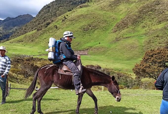 Rescate de montañista.