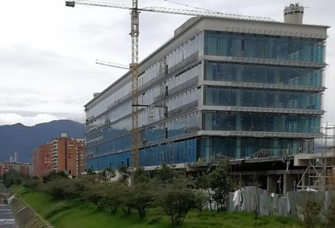 Comando de la Policía Metropolitana de Bogotá en construcción