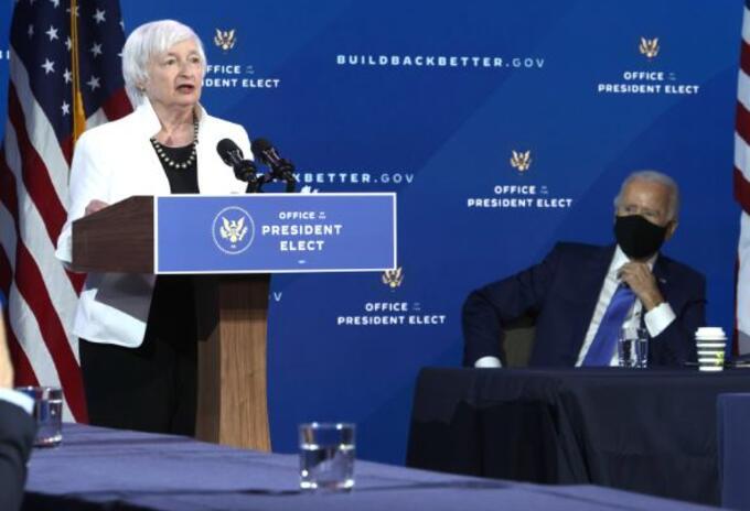 Janet Yellen, nominada para secretaria del Tesoro de EE.UU.