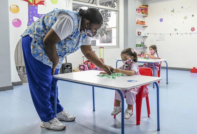 Coronavirus en Colombia - Regreso a clases en medio de la pandemia.