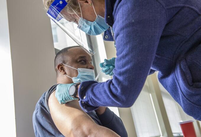 Vacunación contra el Covid-19 en EE..UU