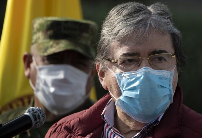 Carlos Holmes Trujillo, ex ministro de Defensa, fallecido por covid-19.