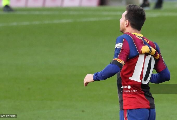 Lionel Messi homenaje a Maradona