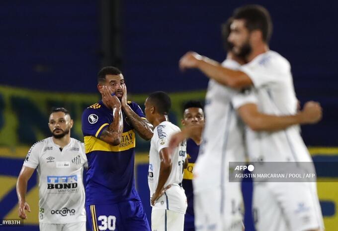 Boca vs Santos - Copa Libertadores