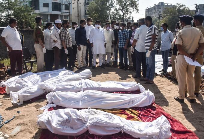 Muertos en India