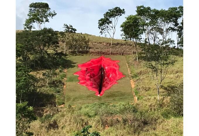 'Diva', escultura en Brasil