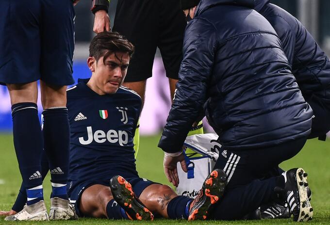 Lesión de Paulo Dybala en Juventus