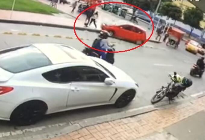 Accidente de tránsito en Suba