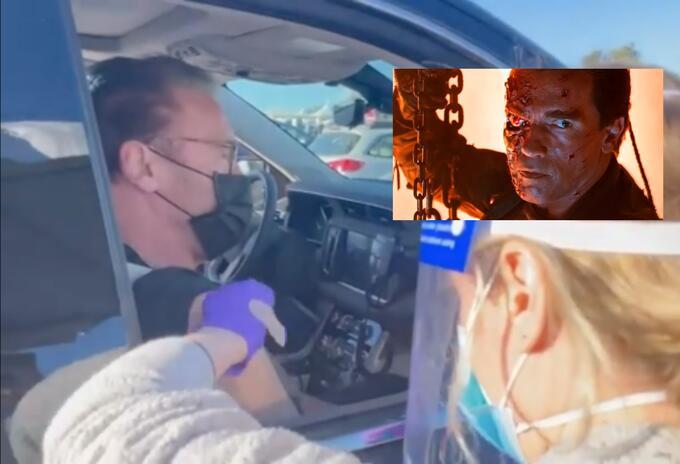 Arnold Schwarzenegger invitó a vacunarse contra coronavirus a lo 'Terminator'