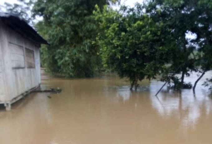Inundaciones Medio Baudó