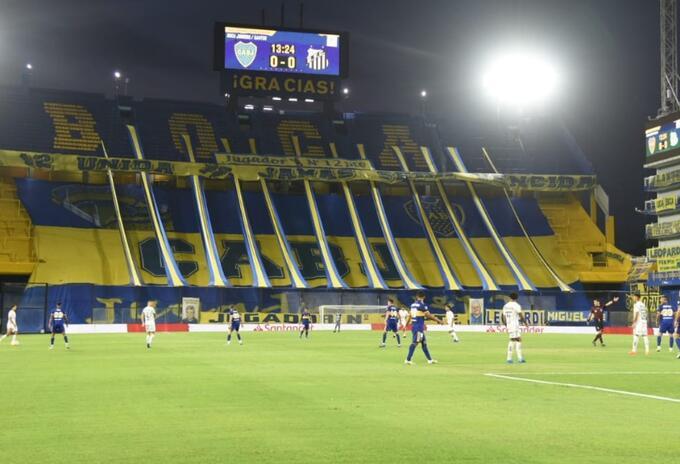 Boca vs Santos