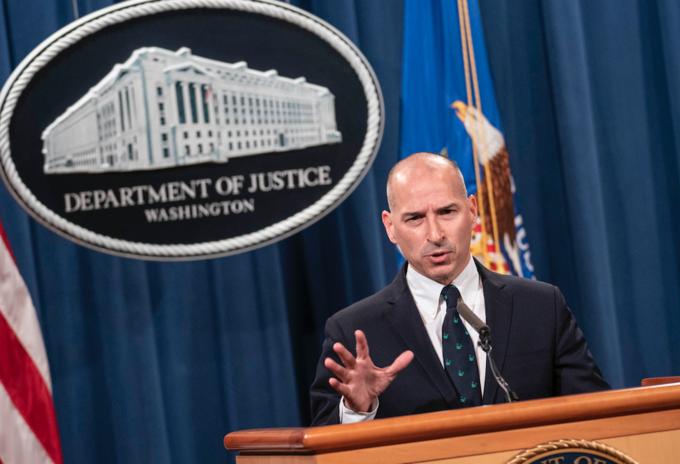 Michael Sherwin, fiscal federal interino en el Distrito de Columbia