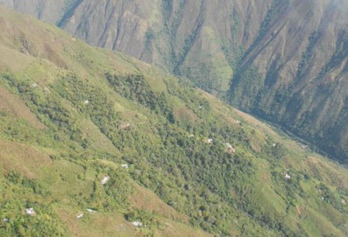 En zona rural de Ituango ocurren los combates entre el Ejército y el Clan del Golfo.