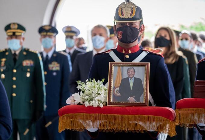 Exequias del ministro Carlos Holmes Trujillo