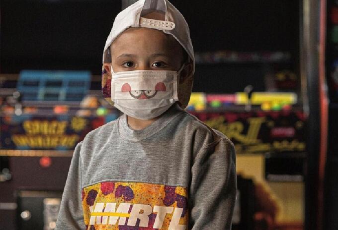 Ropa cáncer - Prendas realizadas con características importantes del cáncer infantil