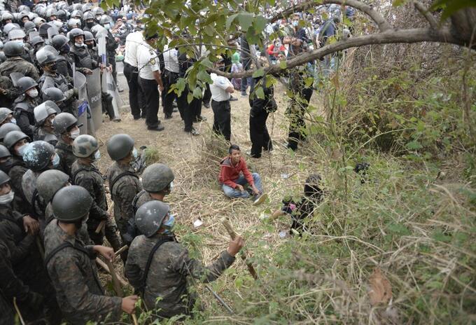 Guatemala disturbios