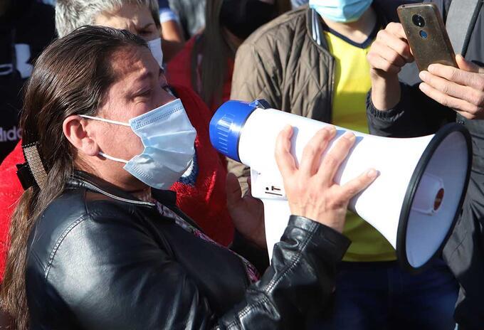 Cuarentena en Bogotá / Protestas de comerciantes en Bogotá por cuarentena
