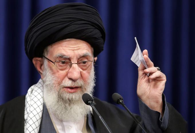 Ayatolá iraní Alí Jameneí