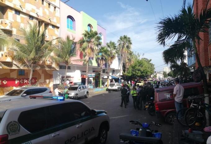Lugar Atentado Barranquilla