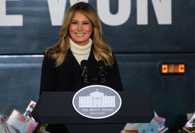 Melania Trump se despide de la Casa Blanca
