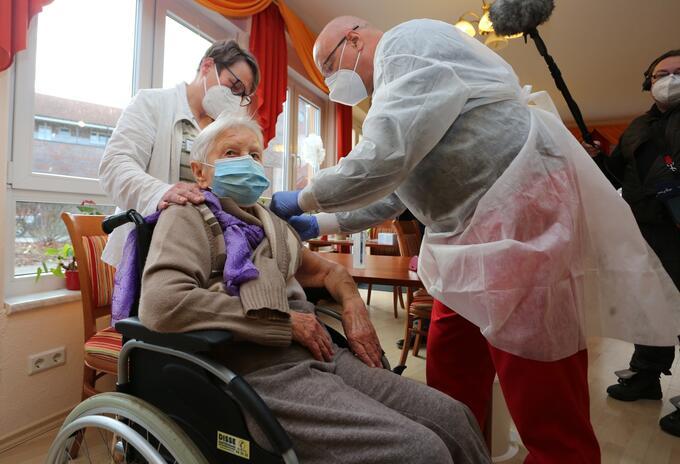 Vacuna contra el coronavirus en Alemania