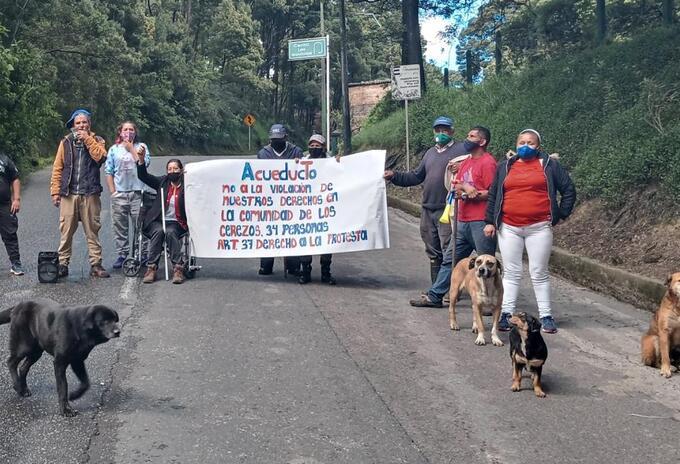 Protestas desalojo